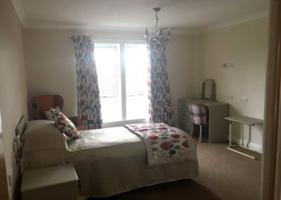 Photo of residents room at Forth Bay Care Home
