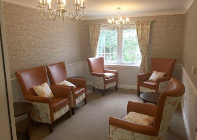 Photo of interior of Forth Bay Care Home
