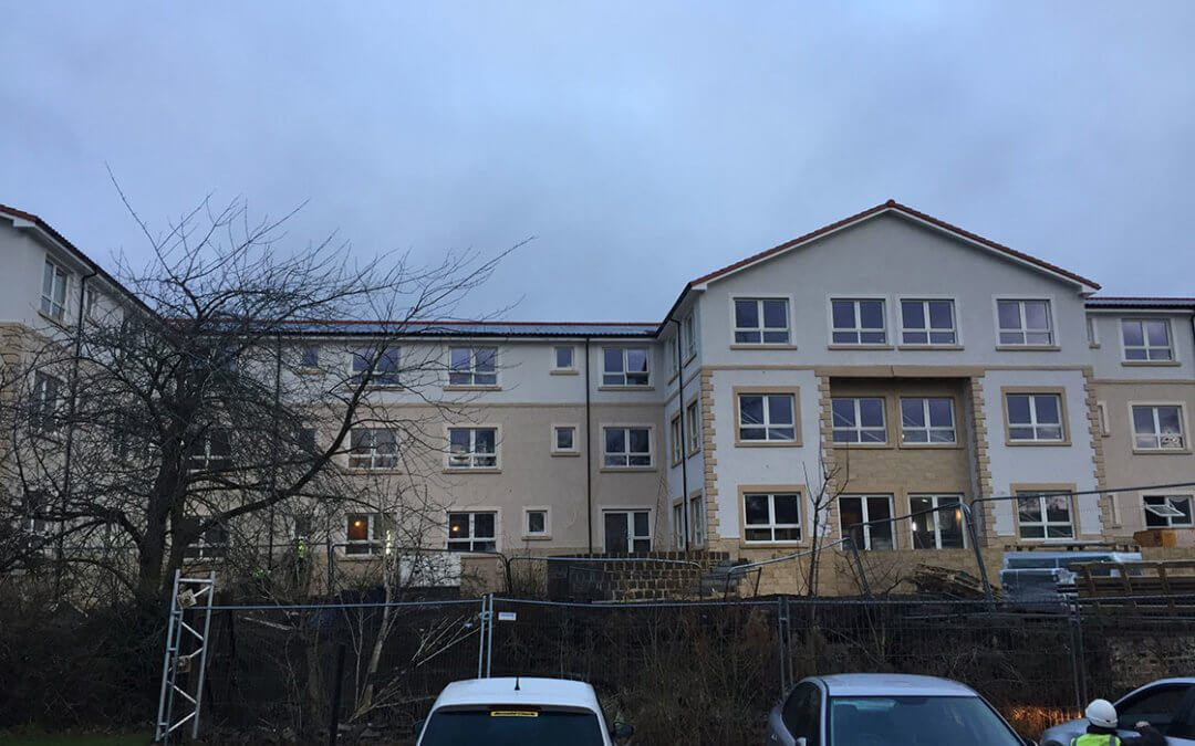 Haddington Care Home takes shape