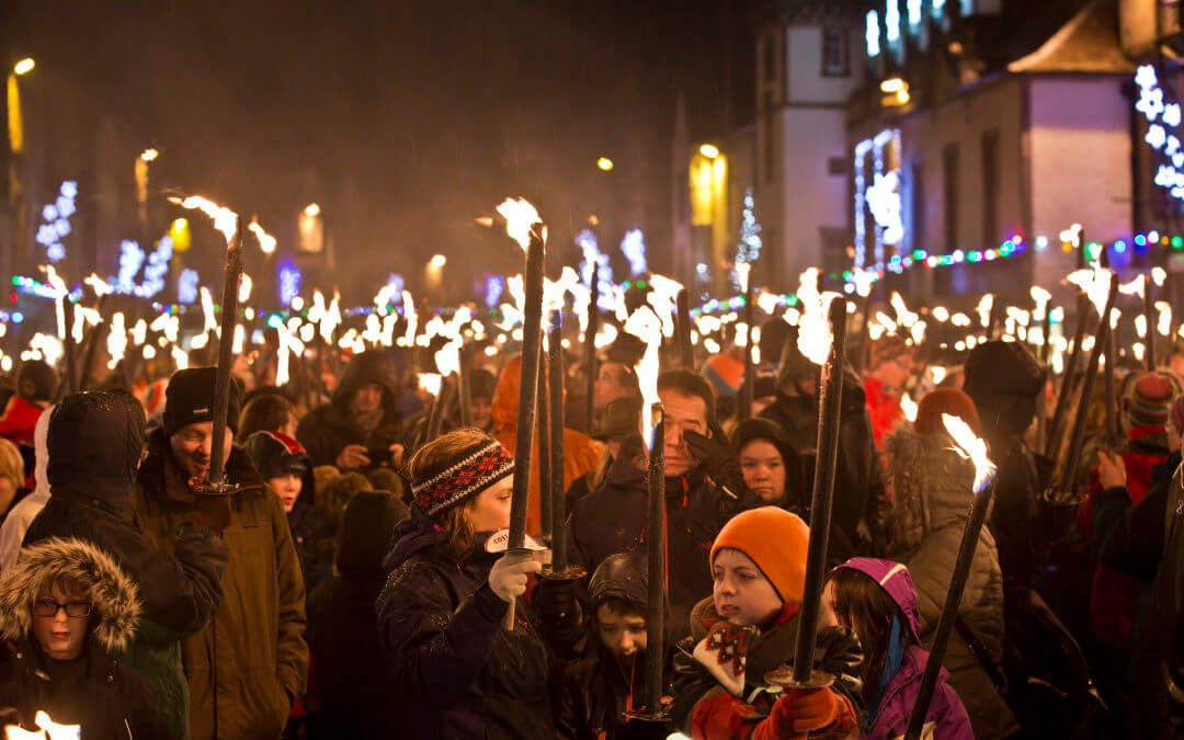 The town that saved Hogmanay