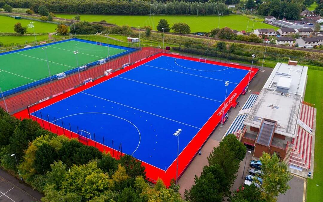 Completion of the upgrading of 3G synthetic hockey pitches