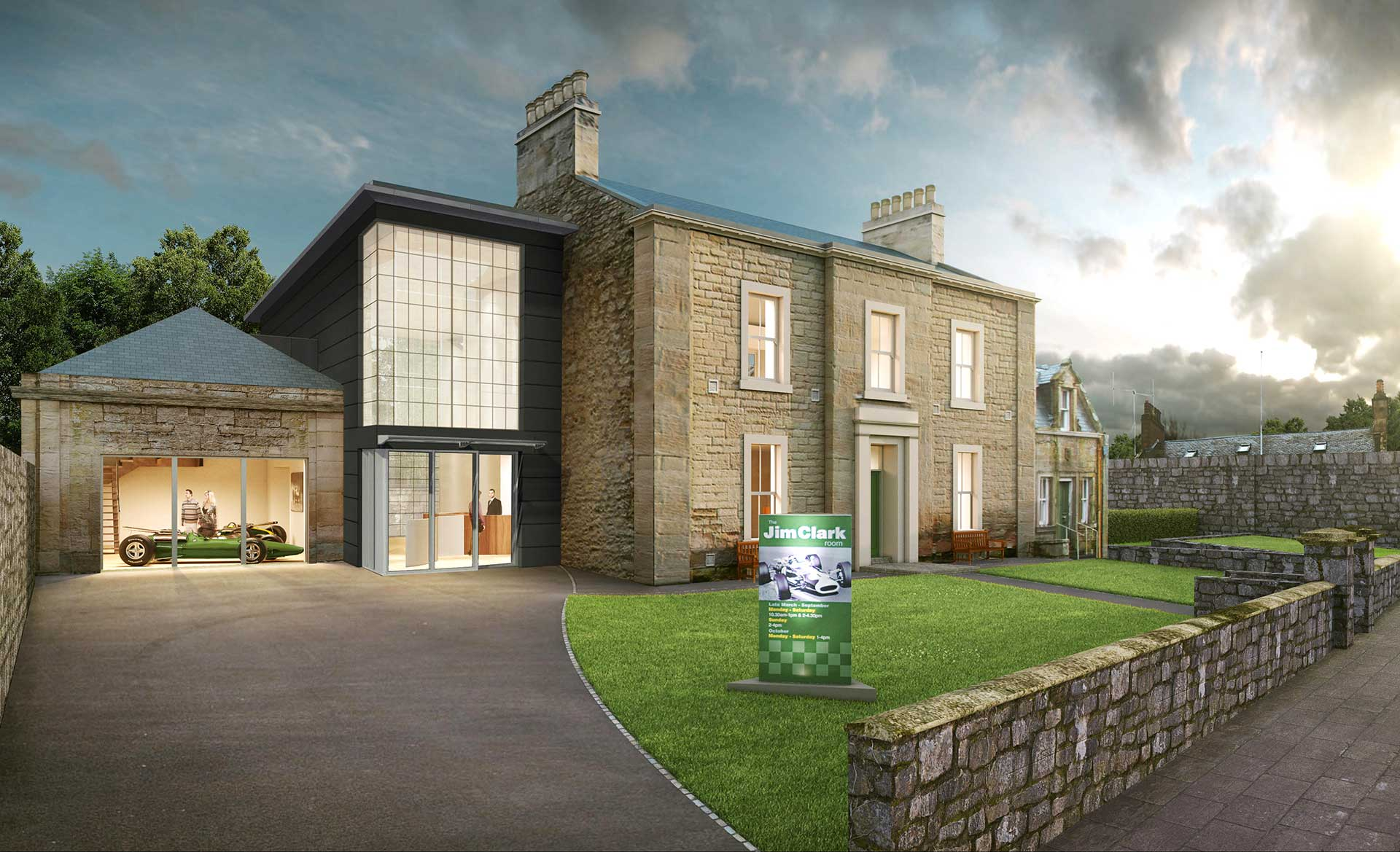 Work on the expanded Jim Clark Museum to start in May