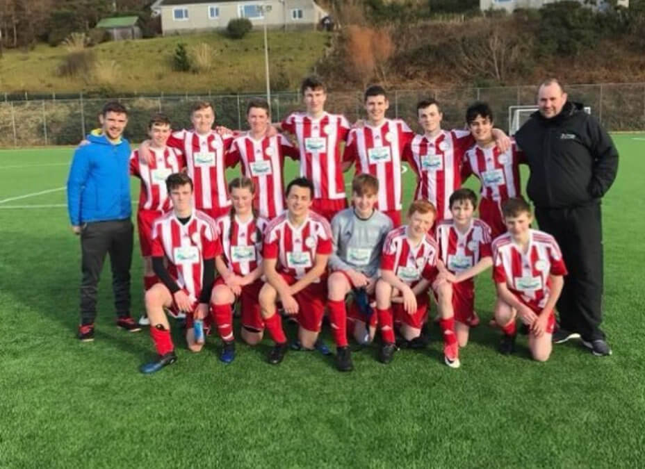 TG Inverness proud to support Broadford Youth Club football team