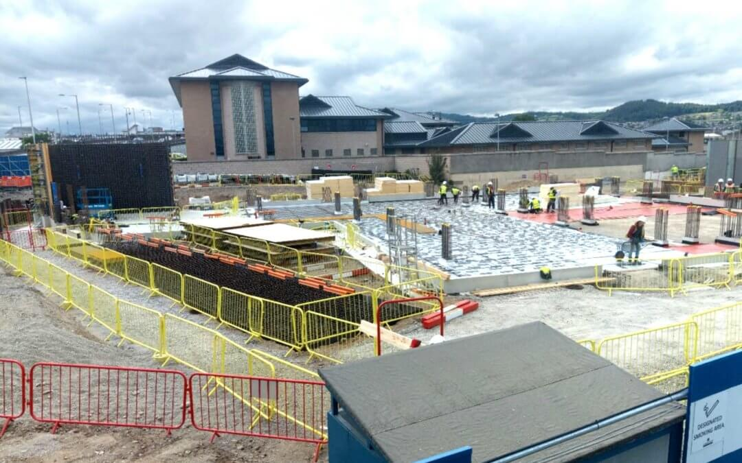 Construction Underway at Scotland's First Justice Centre
