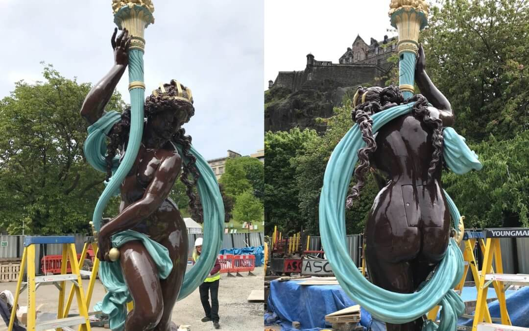 Ross Fountain Restoration Nearing Completion