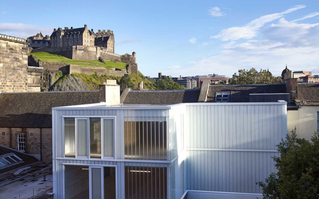Photo of 132 Princes Street which achieved design awards success for 3DReid