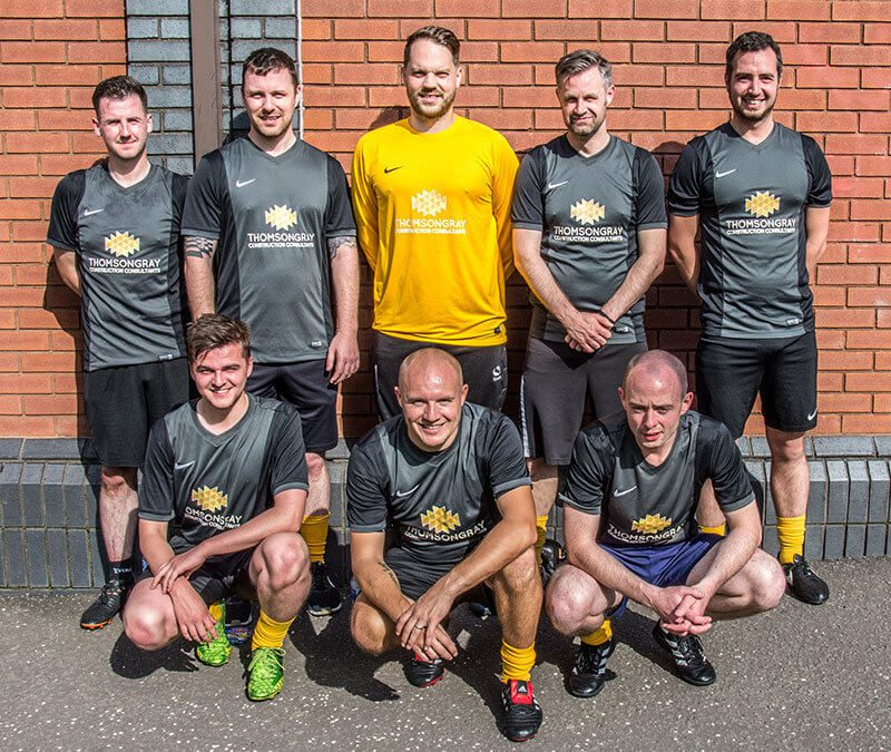 Sun shines as Thomson Gray Seamab Fives tournament raises over £7,500 for charity