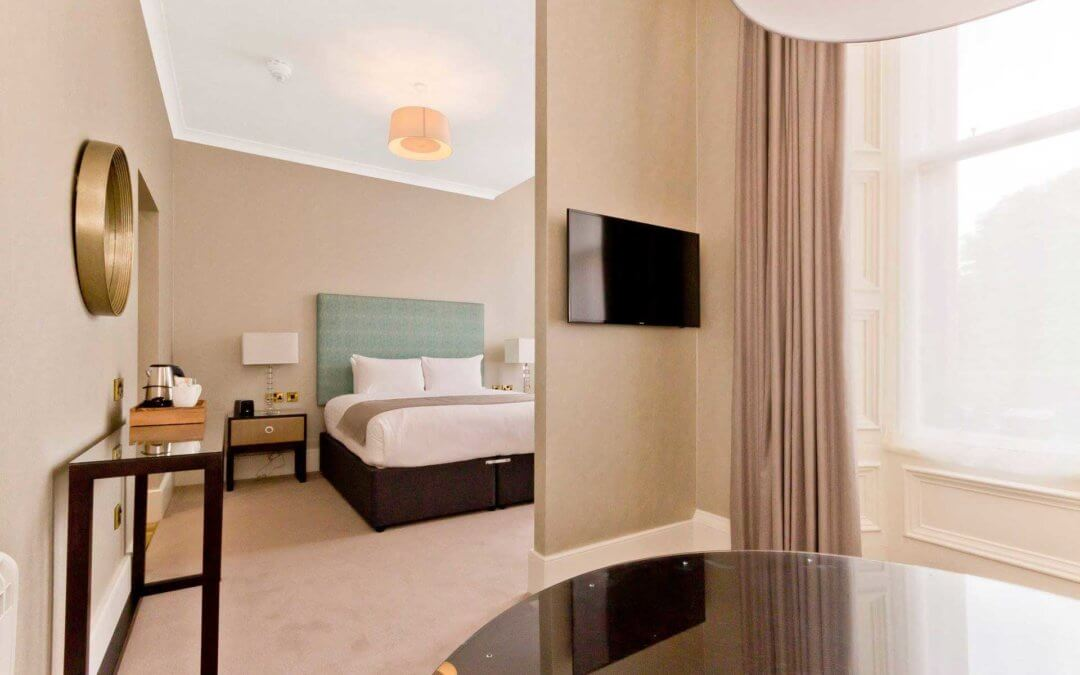 Photo of bedroom – Bruntsfield Hotel refurbishment