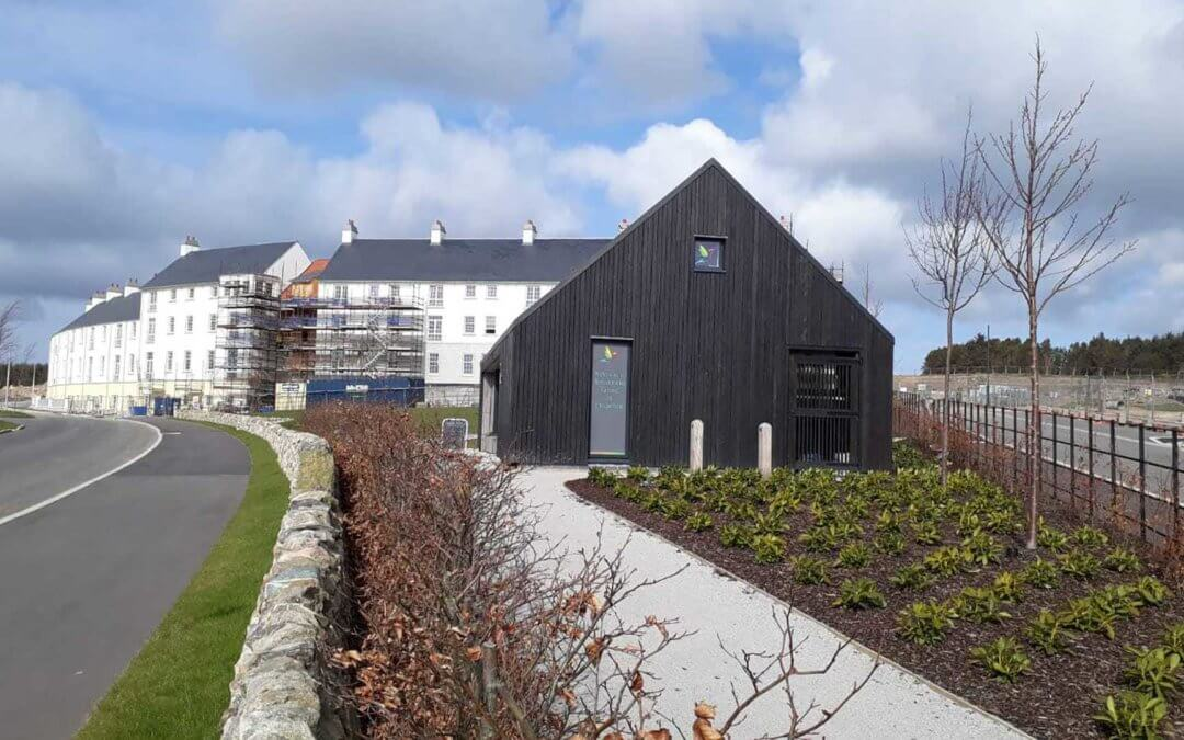 The Hut at Chapelton has been shortlisted for the RICS Scotland Awards 2019