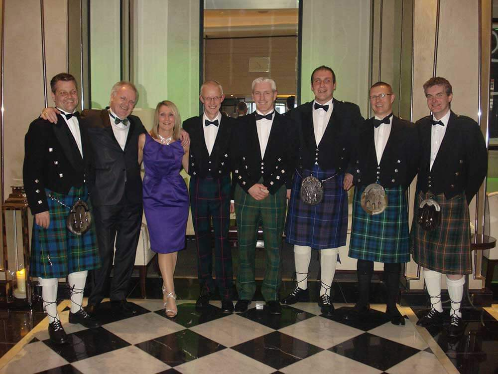 Photo of the Thomson Gray team attending the Building Awards in 2011
