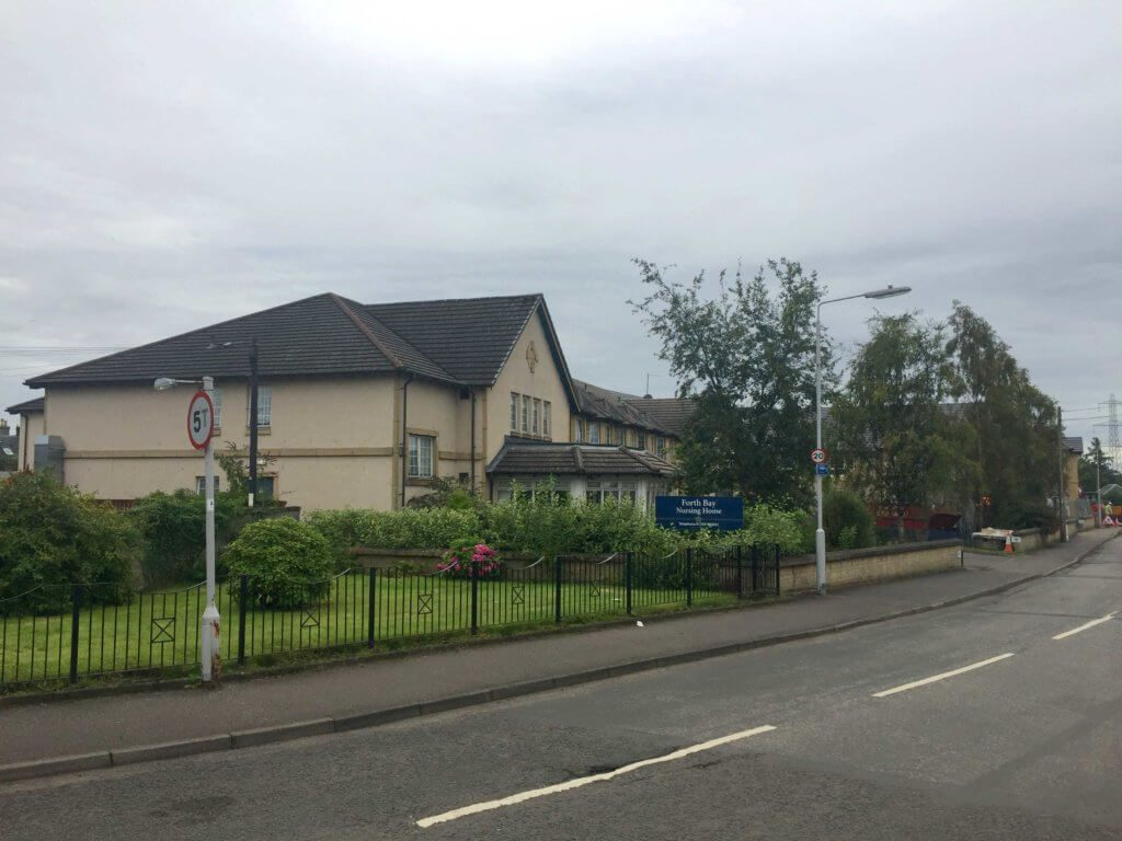 Photo of exterior of Forth Bay Care Home