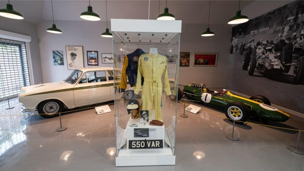 Jim Clark Motorsport Museum exhibits