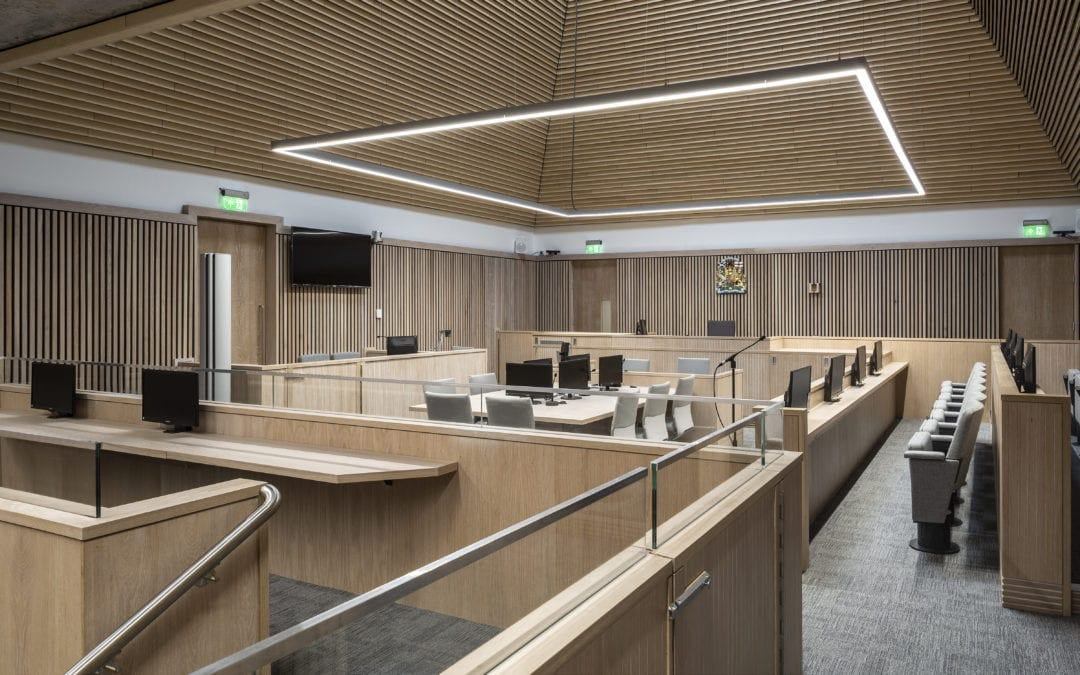 Inverness Justice Centre shortlisted for Property Award
